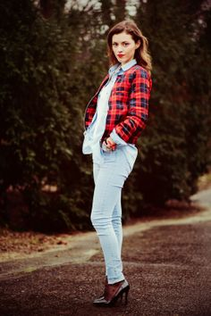 Tartan, Profile, Trends, Jeans, Blog, Inspiration, Outfits, Style, Fashion