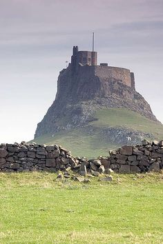 Lindisfarne Castle is a 16th-century castle located on Holy Island, near Berwick-upon-Tweed, Northumberland.