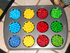 How about decorating cupcakes or ice cream??? fun idea!