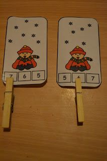 My Montessori Preschool: Winterland! Could make and put on ring for in the car or quiet times