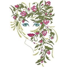 Fantasy Floral Women has 9 original art work designs by Kara. Exotically beautiful women with flowers for their hair to grace your embroidery collection. Imagine the quilt, or framed art work these would create. An exquisite purse is sure to be the talk of the party, try them on different fabrications for some spectacular results. …