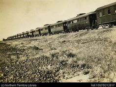 Territory Stories: Train Railroad Tracks, Photoshop, Train, Landscape, Scenery, Strollers, Corner Landscaping, Train Tracks