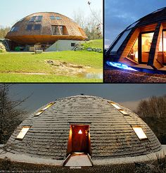 Rotating house. Balances temperature, reduces energy consumption and changes the scenery! Love it!
