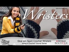 Come and join in on the fun with The Crochet Crowd ...Our Fall Challenge: How to Crochet Wristers (Fingerless Gloves) - YouTube tutorial/ free written pattern also available... closes oct 10th with random prize draw courtesy of Red Heart