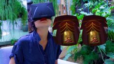 THE NAIL POLISH INFERNO  A virtual Reality art show accessed through the Oculus Rift.