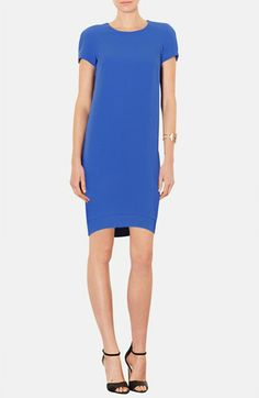 Topshop Crepe Shift Dress (Petite) available at #Nordstrom