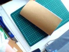 Midori Traveler's Notebook - 8. come fare gli inserti - YouTube