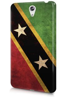 Saint Kitts and Nevis Vintage Country Flag Case Cover Design for LeTV Phone