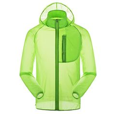 Girls' Cycling Jackets - Panegy Outdoor DriFit Lightweight Skin Windbreaker Dust Coat Zipper Jacket *** Continue to the product at the image link.