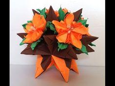 5 Petals Origami flower #3 FIORE GIUSTO X QUEEN NIGHT
