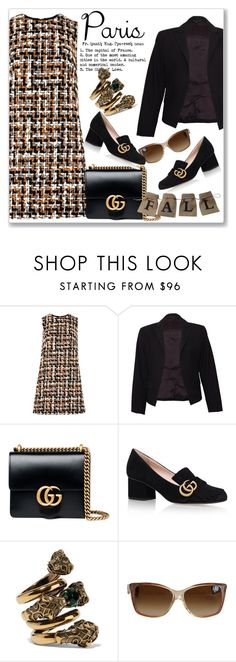 """I Love Paris In the Fall"" by andrejae ❤ liked on Polyvore featuring Dolce&Gabbana, Theory, Gucci and fallgetaway"