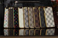 LV Gucci moderne Hardcase mit golden Kanten für iPhone 6/6 Plus - spitzekarte.com
