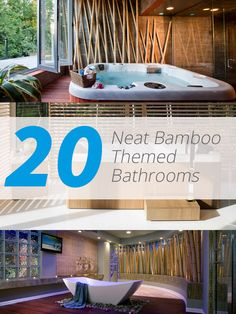 20 Neat Bamboo-Themed Bathrooms   Home Design Lover