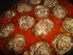 This Is My Favorite Sauce For All Thing Italian. Grandma Maroni's Meatballs and Maroni Sauce  100 Year Old Recipe