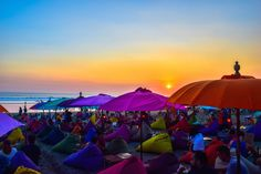 Lazy day on Seminyak Beach where you can unwind, relax and even have some fun bartering with the locals.