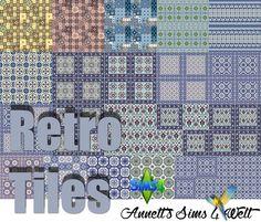 Annett's Sims 4 Welt: Retro Tiles