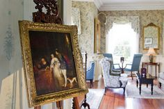 Hotel in Tralee Ireland Private Garden, Acre, Ireland, Castle, Luxury, Room, Painting, Bedroom, Painting Art