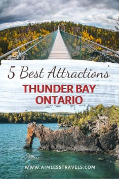 5 Best Things to Do in Thunder Bay Ontario Canada - Thunder Bay ON appeals to hikers nature seekers and site seers alike. Within just 45 minutes of Thunder Bay youll see the amazing Sleeping Giant Eagle Canyon Amethyst Mines and so much more. Places To Travel, Travel Destinations, Places To Visit, Travel Diys, Travel Europe, Italy Travel, Travel Bag, Alberta Canada, Canada Ontario
