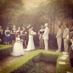 New Orleans Weddings: The Garden at Beauregard-Keys house, Weddings French Quarter New Orleans