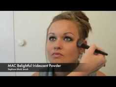 The Prettibloom Blog: Summer night look part 2. How to get a simple, sultry smokey eye.
