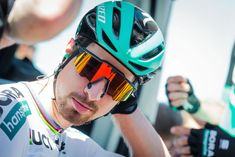 Nasal opening magnets feature on the new 100% Speedcraft Air glasses, the eyewear of choice for Peter Sagan