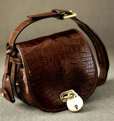 The Ralph Lauren RL Saddle Bag