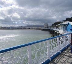 Llandudno, Wales  looking towards the town