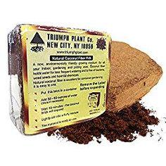 Coconut Coir Fiber – 4 Pack Convenient Blocks – All-Natural Coconut Peat