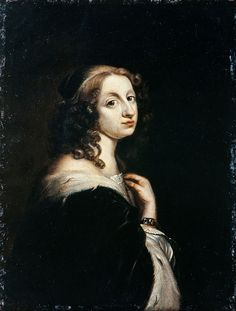 Queen Christina of Sweden as a young woman.