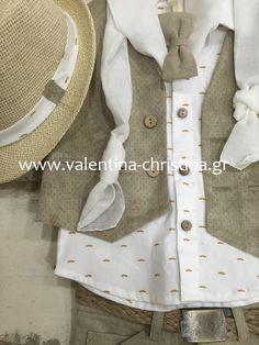 ΜΟΝΤΕΡΝΑ ΒΑΠΤΙΣΤΙΚΑ ΡΟΥΧΑ ΓΙΑ ΑΓΟΡΑΚΙ!! Vest, Collections, Baby, Jackets, Fashion, Down Jackets, Moda, Fashion Styles, Babys