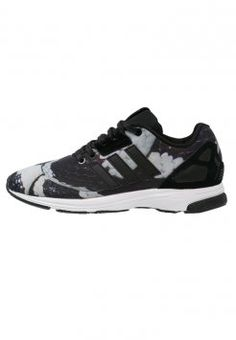 adidas Originals - ZX FLUX TECH - Sneaker - core black/white