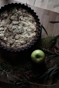 Dona Biscoito: Tarte de maçã com Vinho do Porto