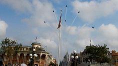 Blue Angels flyover at Walt Disney World