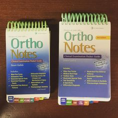 Here's a little #ThenAndNow pic for one of our first #Notes titles- Ortho Notes ! #tbt #throwbackthursday #Ortho #FADavis #PocketGuide #AlwaysAtYourSide #waterproof #PhysicalTherapy #PT #PhysicalTherapists #clinical #examination #student