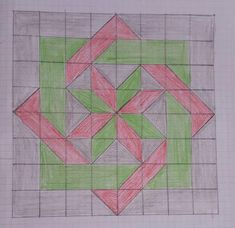 Quilt Square Patterns, Beginner Quilt Patterns, Barn Quilt Patterns, Quilt Tutorials, Pattern Blocks, Star Patterns, Barn Quilt Designs, Quilting Designs, Half Square Triangle Quilts