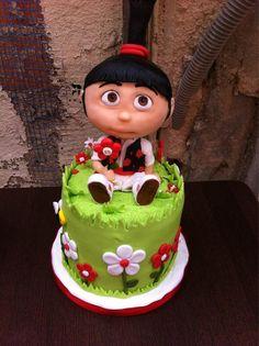 Birthday Cake! Agnes de Gru Mi Villano Favorito en el bando de la huerta de Murcia