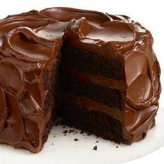 Devil's food cake by Nigella Lawson Death By Chocolate Cake, Chocolate Fudge Cake, Chocolate Frosting, Nigella Chocolate Cake, Choco Chocolate, Fudge Frosting, Decadent Chocolate, Chocolate Hazelnut, Delicious Chocolate