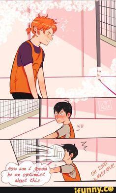 romance Picture memes by TreasurySecretary - iFunny :) Haikyuu Funny, Haikyuu Manga, Haikyuu Fanart, Haikyuu Volleyball, Volleyball Anime, Manhwa, Kagehina Cute, Kageyama X Hinata, Gay