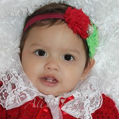 Christmas Headband, infant christmas headband, baby girl christmas headband, Flowers Headband, Infant Headbands, Baby Headband, Christmas Baby Girl Christmas, Green Christmas, Baby Headbands, Red Green, Tutu, Christmas Headbands, Onesies, Infant, Nursery