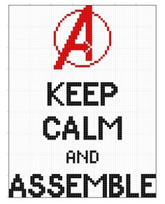 (pinned from fymarvelcrafts) Avengers cross-stitch, free pattern. (Mostly for me)