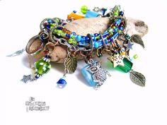 Trash Totem  Bracelet  La Méchante Sorcière  par lamechantesorciere, $49.95