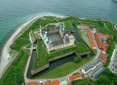 Kronborg Castle in Denmark