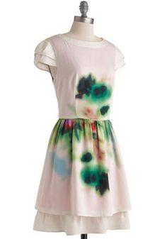 Blurred to the Wise Dress, #ModCloth....LIKE.