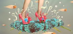 SILENT SPRING by BECHA, via Behance