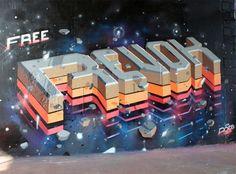 Free Revok by ROID. MSK. Graffiti.