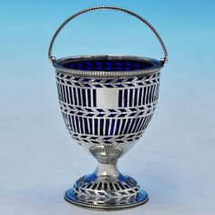 This beautiful antique silver sugar basket by famed silversmith Hester Bateman is a simply elegant way to offer up sugar.