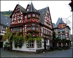 Hause (built 1368) ~ Bacharach am Rhein ~ Germany