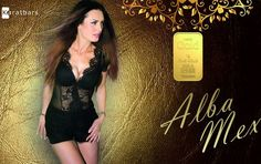 "Alba Mex began her modeling career in 2011 and also works as a Jury member at Beauty Contests . Especially for her fans she customized this Karatbar . Get your copy today! ""I want to say 'Thank you' to all of my fans.  You brought me to this point. I love you so much "" - Alba    Every gold bar is:  - produced by an LBMA listed manufacturer... http://wu.to/2WrHf0 #socialmedia #entrepreneur #networking #business #success"