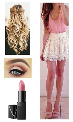 """Untitled #767"" by ashleyclairec ❤ liked on Polyvore featuring NARS Cosmetics"