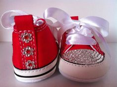 Baby Swarovski crystal Converse First Star crib by Remixurkicks 925d6facfd